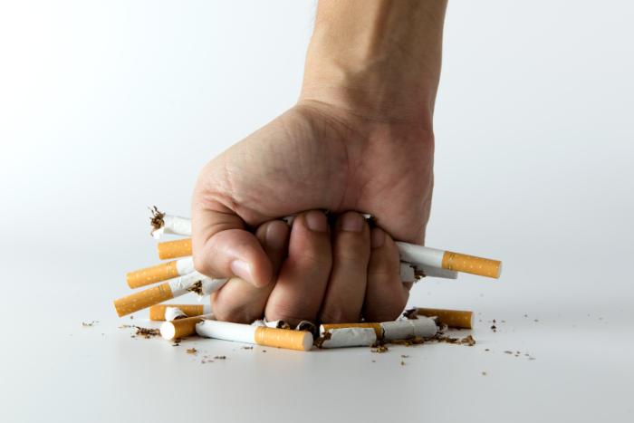 Nikotinsucht stoppen