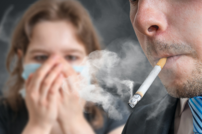 Zigarettenqualm stoppen