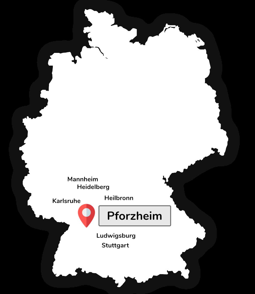 Fumexan Karte Pforzheim